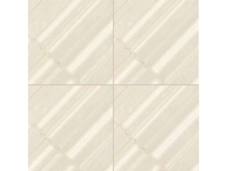 Glazed stoneware wall/floor tiles AZULEJ BIANCO DIAGONAL by MUTINA