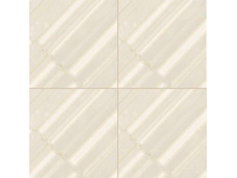 Glazed stoneware wall/floor tiles AZULEJ BIANCO DIAGONAL - MUTINA