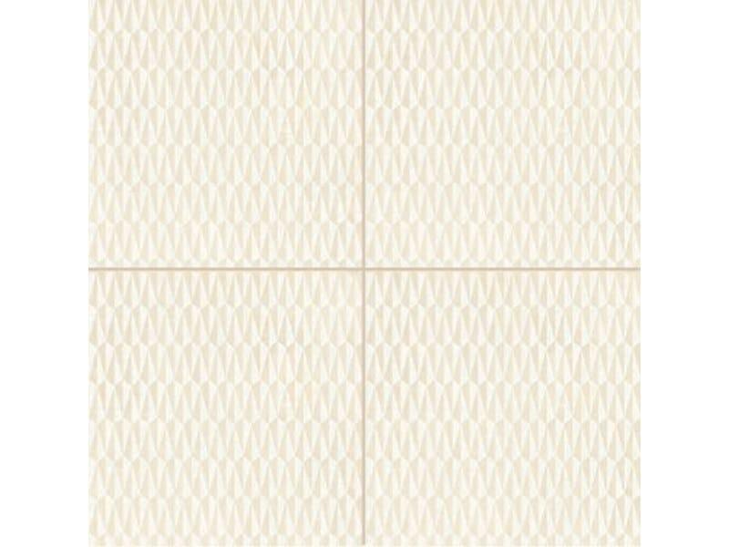 Glazed stoneware wall/floor tiles AZULEJ BIANCO TRAMA - MUTINA