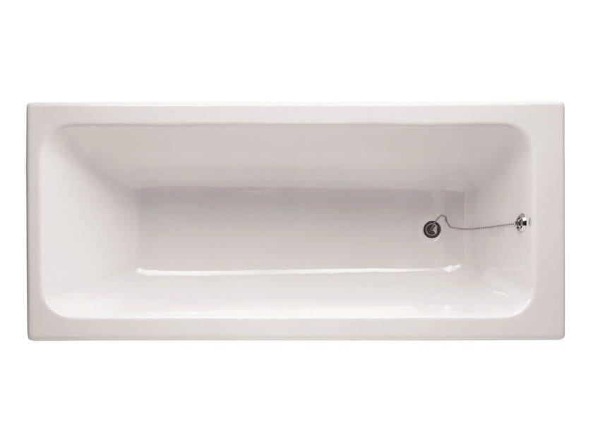 Vasca da bagno in ghisa da incasso bay by bleu provence - Vasca da bagno in ghisa ...