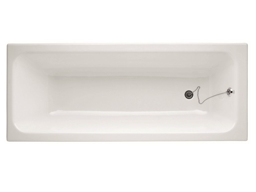Built-in rectangular bathtub IDEA | Cast iron bathtub - BLEU PROVENCE