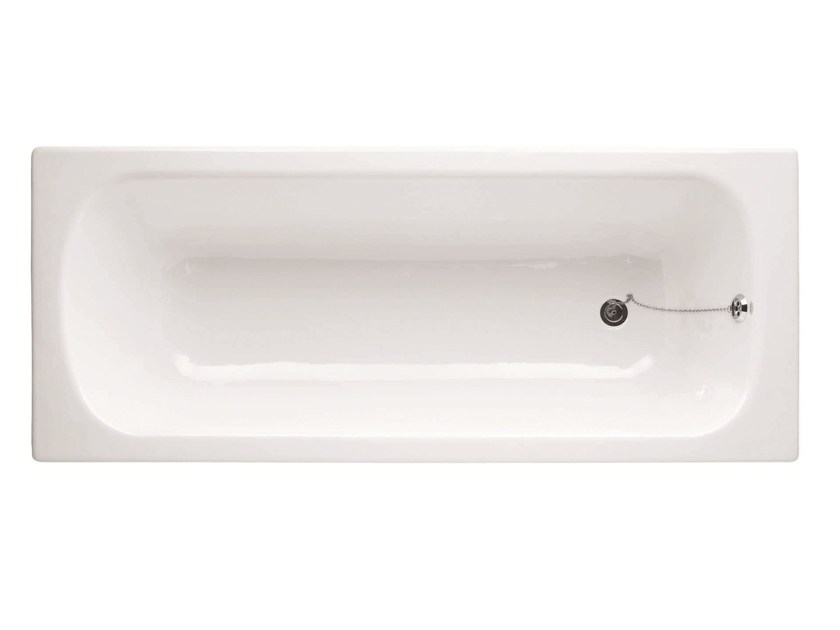 Built-in cast iron bathtub VICTORIA - BLEU PROVENCE