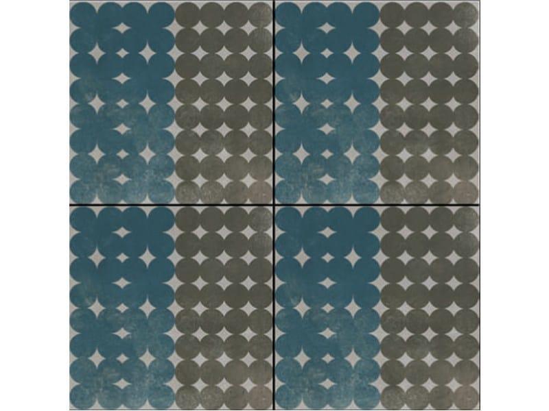 Glazed stoneware wall/floor tiles AZULEJ GRIGIO TREVO - MUTINA