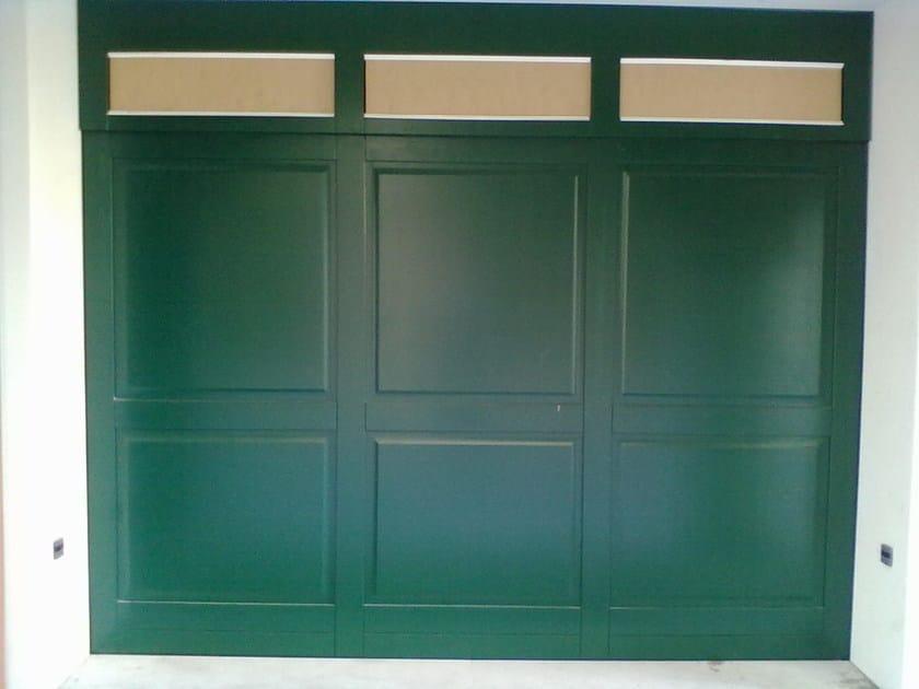 Automatic garage door Vertically sliding industrial door by CARMEC