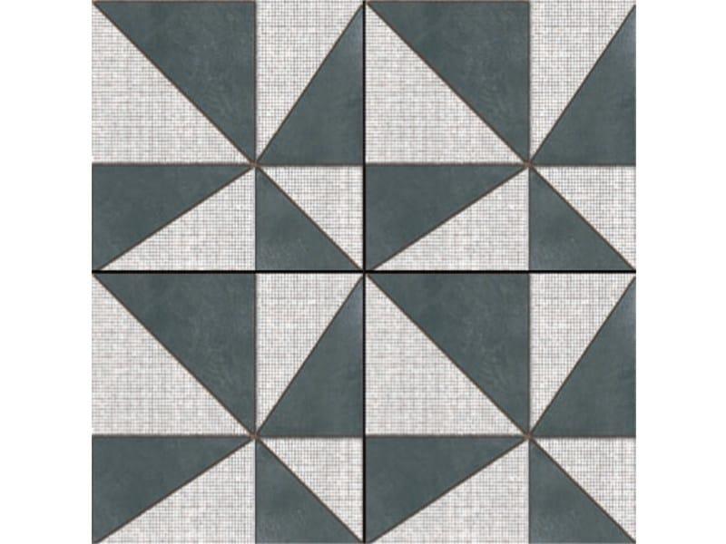 Glazed stoneware wall/floor tiles AZULEJ NERO GIRA - MUTINA