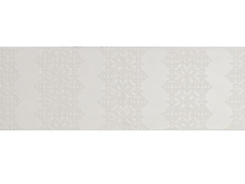 Indoor porcelain stoneware wall/floor tiles BAS-RELIEF GARALAND BIANCO - MUTINA