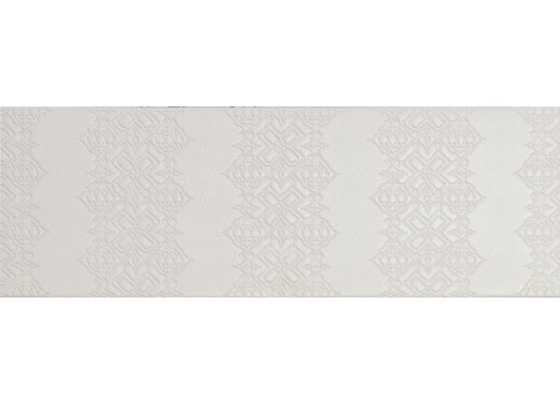 Indoor porcelain stoneware wall/floor tiles BAS-RELIEF GARALAND BIANCO by MUTINA