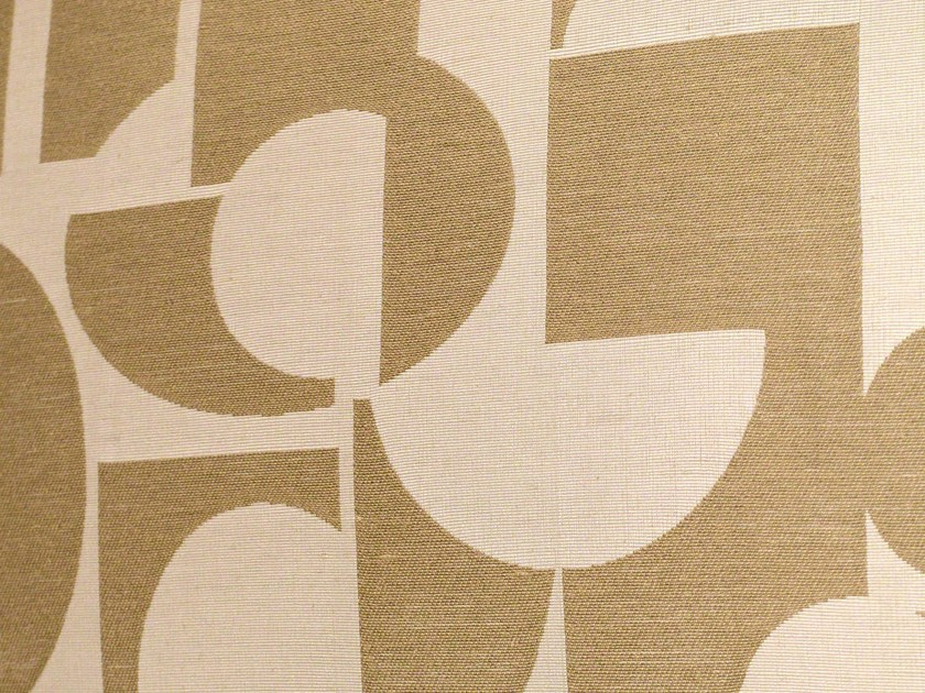 Wall fabric with graphic pattern STABILE - LELIEVRE