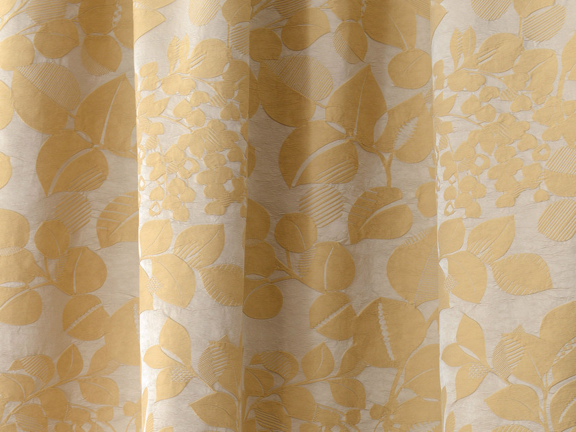 Fabric with floral pattern PHYLUM - LELIEVRE