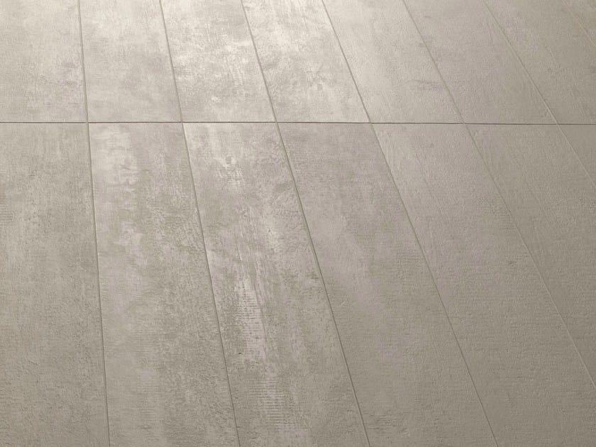 Porcelain stoneware wall tiles FLOW TAUPE - MUTINA