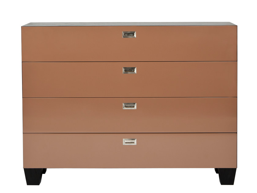 Lacquered oak chest of drawers MEDICIS | Lacquered chest of drawers by AZEA