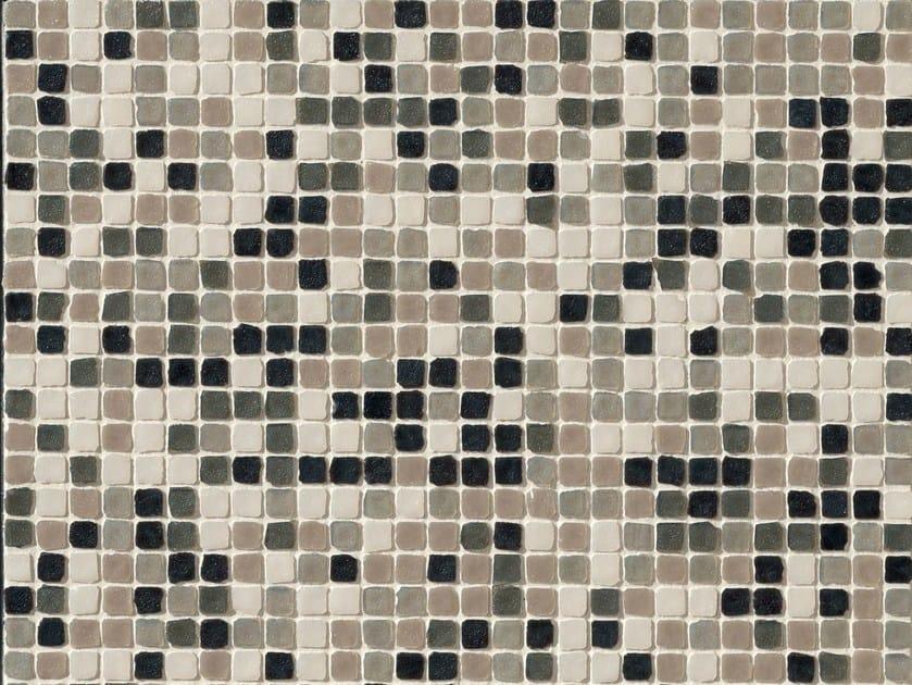 Porcelain stoneware mosaic DECHIRER GLASS MIX - MUTINA