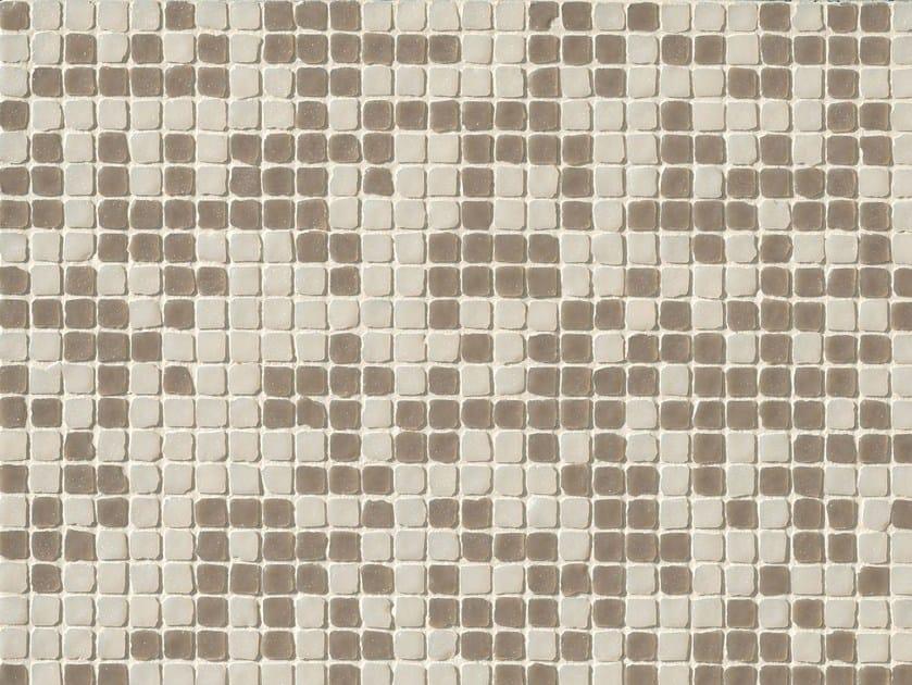 Porcelain stoneware mosaic DECHIRER GLASS MIX BIANCO-ECRU' - MUTINA