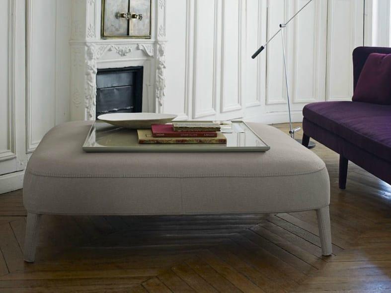 Upholstered pouf FEBO | Pouf by Maxalto
