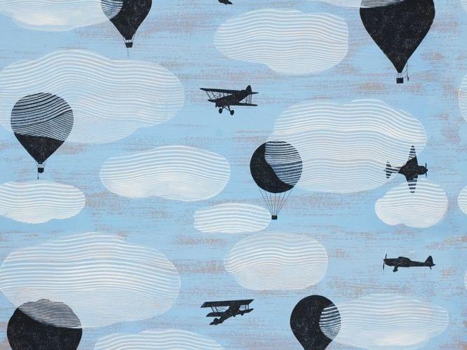 Nonwoven Wallpaper Avionic By Wall Amp Dec 242 Design Francesca