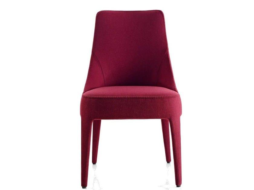 Upholstered fabric chair FEBO   Chair - Maxalto, a brand of B&B Italia Spa