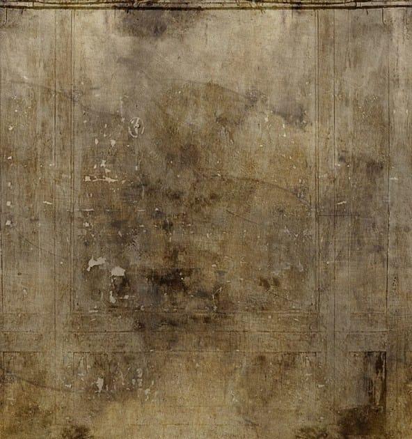 Carta da parati effetto muro in vinile concrete moir for Carta da parati vinile