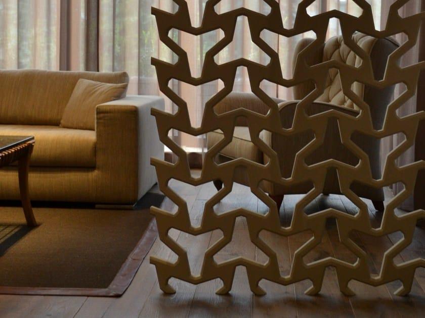 Ceramic materials room divider ARABESQUE by 3D Surface