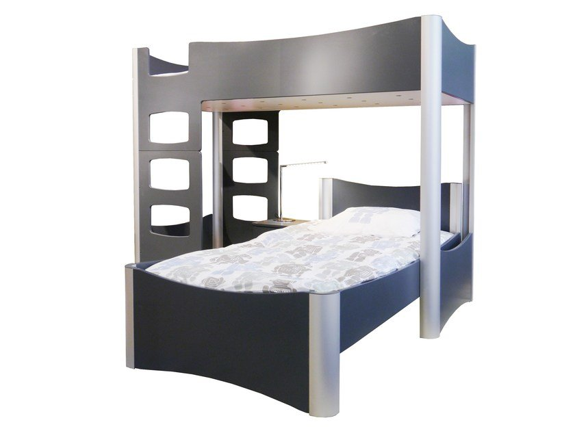 Loft bed FUSION | Loft bed by Mathy by Bols