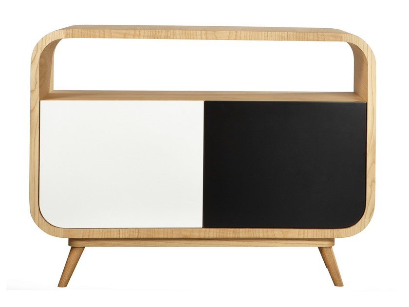 50s style lacquered sideboard JORGE by AZEA