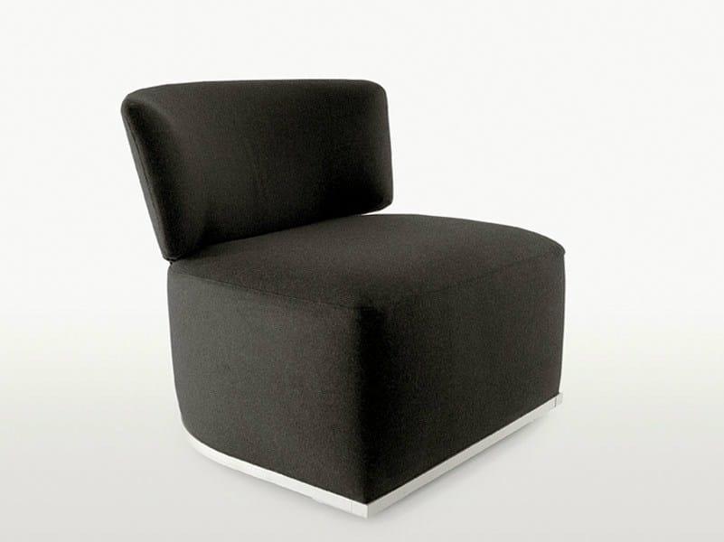 Amoenus armchair by maxalto a brand of b b italia spa for B b italia spa