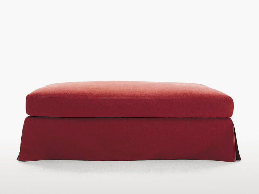 Upholstered fabric pouf SIMPLEX | Pouf - Maxalto, a brand of B&B Italia Spa
