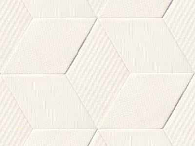 Indoor porcelain stoneware wall/floor tiles TEX WHITE by MUTINA