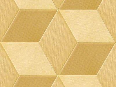 Indoor porcelain stoneware wall/floor tiles TEX YELLOW - MUTINA
