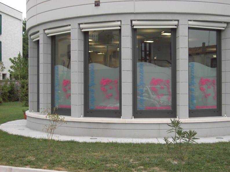Pellicola per vetri decorativa pellicole traslucide opache foster t c - Pellicole oscuranti per vetri casa ...