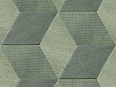 Indoor porcelain stoneware wall/floor tiles TEX OLIVE - MUTINA