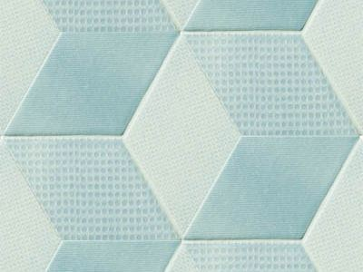 Indoor porcelain stoneware wall/floor tiles TEX BLUE - MUTINA