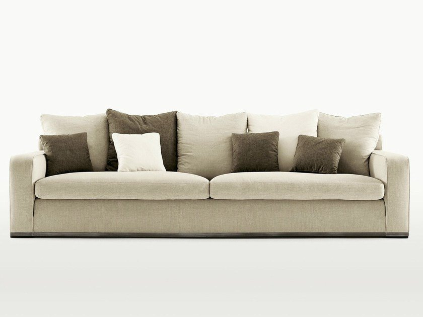 Upholstered fabric sofa imprimatur collection by maxalto for B b italia spa