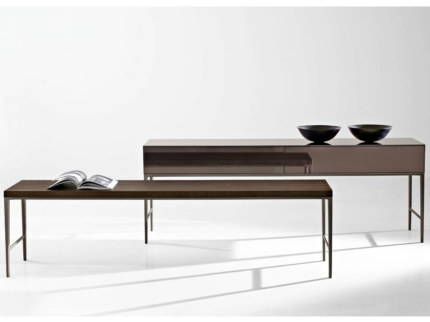 Rectangular wooden console table ANTARES | Console table by Maxalto