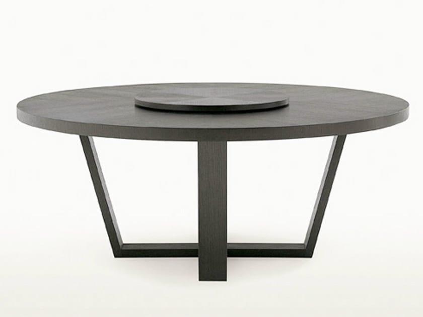 Runder Esstisch ~ XILOS Round table by Maxalto, a brand of B&B Italia Spa design Antonio Ci
