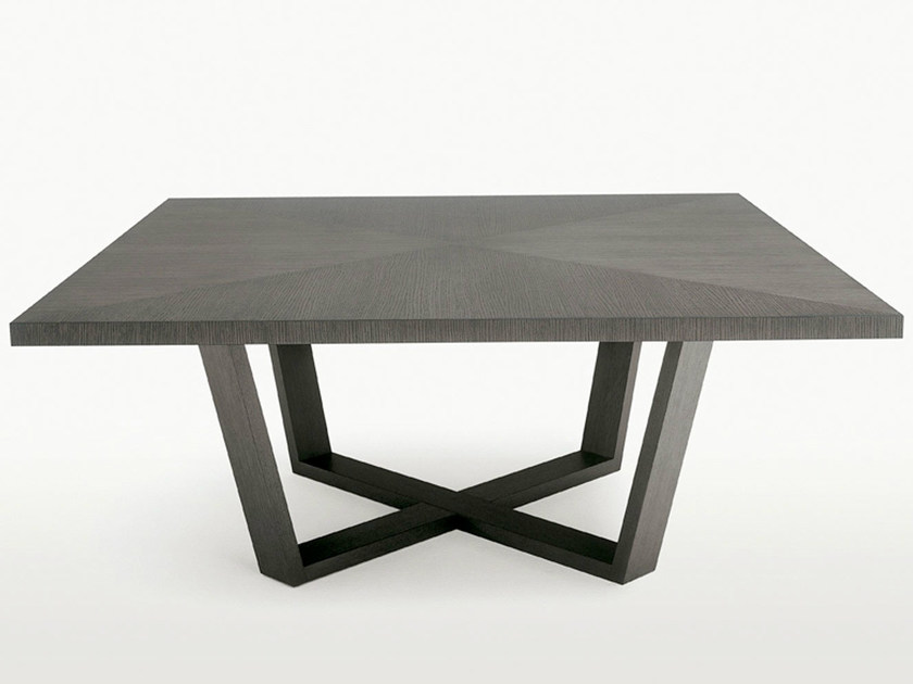 Square wooden table XILOS | Square table - Maxalto, a brand of B&B Italia Spa