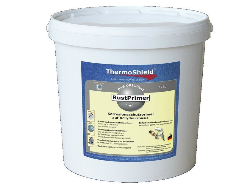 Anticorrosive primer ThermoShield RustPrimer - TECNOVA GROUP®