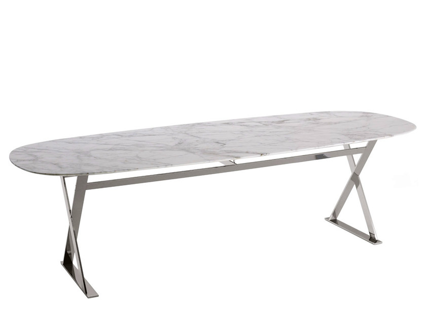 Rectangular marble table PATHOS | Table - Maxalto, a brand of B&B Italia Spa