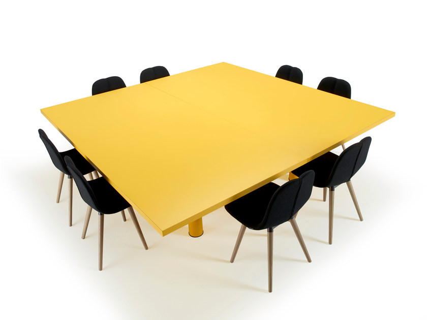 Square meeting table XTRA LARGE | Meeting table - Offecct