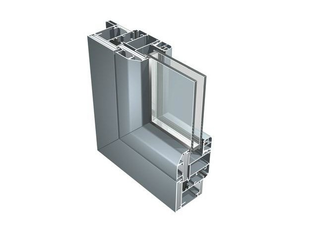 Aluminium double glazed window B 70 - ALUK Group