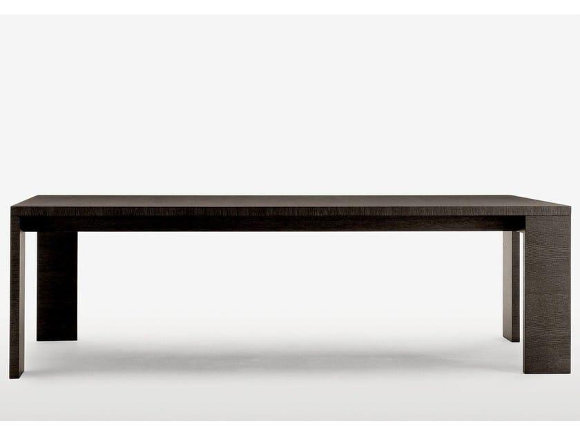Rectangular wooden table ALCEO - Maxalto, a brand of B&B Italia Spa
