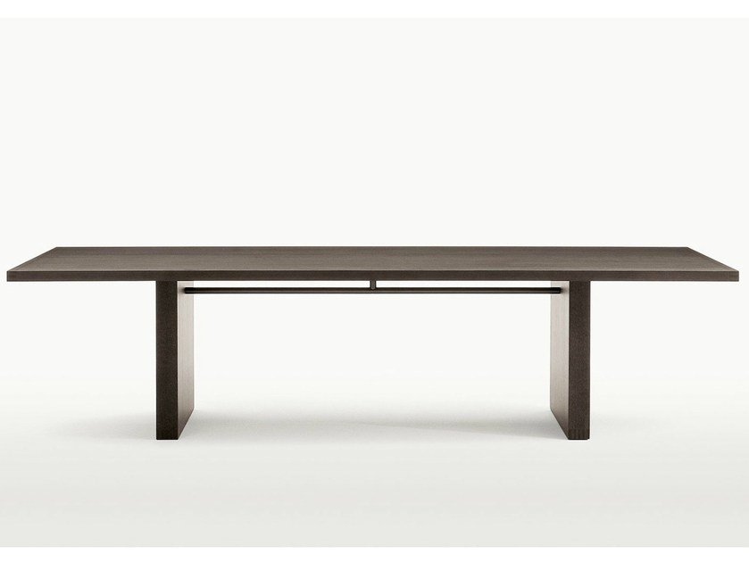 Rectangular oak table SIMPOSIO - Maxalto, a brand of B&B Italia Spa