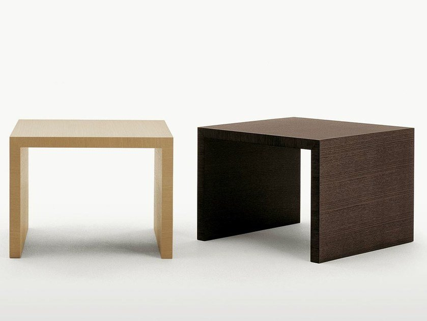 Square wooden coffee table ARKÈ | Coffee table by Maxalto