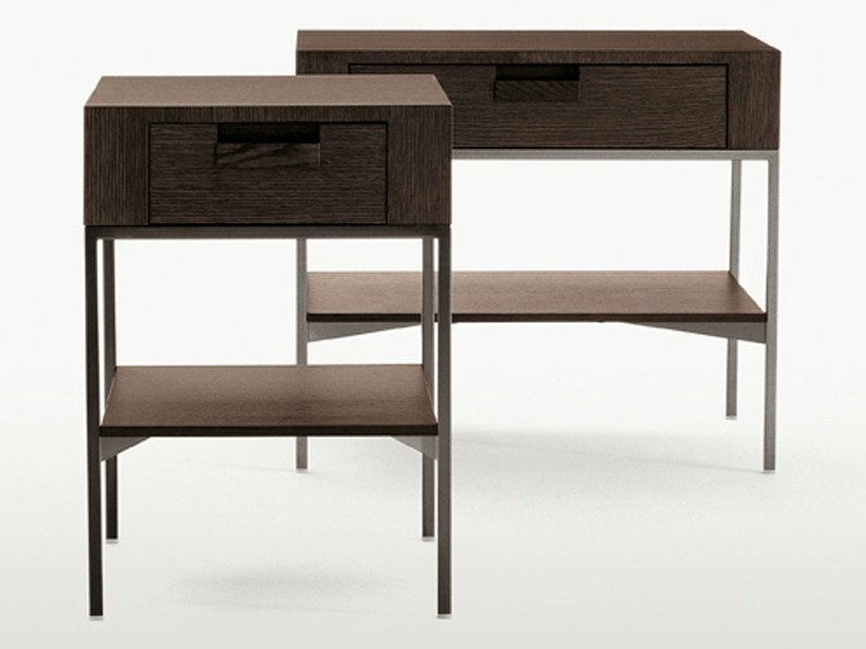 Solid wood coffee table / bedside table EBE | Rectangular bedside table - Maxalto, a brand of B&B Italia Spa