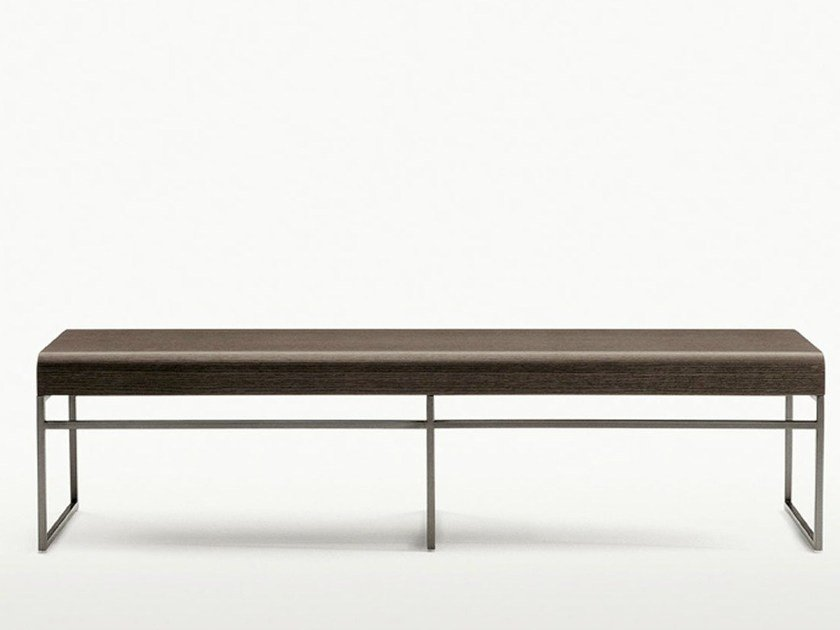 Wooden bench ELIOS | Bench - Maxalto, a brand of B&B Italia Spa