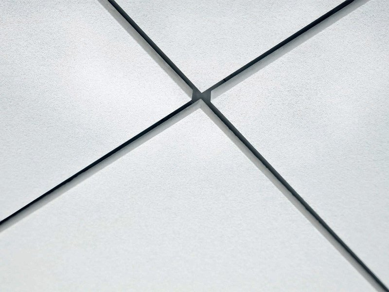Acoustic mineral fibre ceiling tiles THERMATEX SF ACOUSTIC - Knauf AMF Italia Controsoffitti