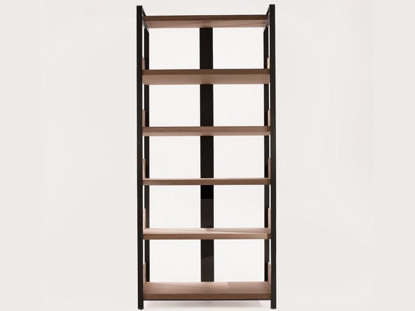 Open solid wood bookcase ERACLE | Bookcase - Maxalto, a brand of B&B Italia Spa