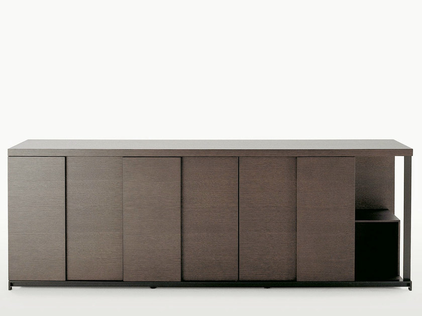 Wooden sideboard with doors CRESO | Sideboard - Maxalto, a brand of B&B Italia Spa