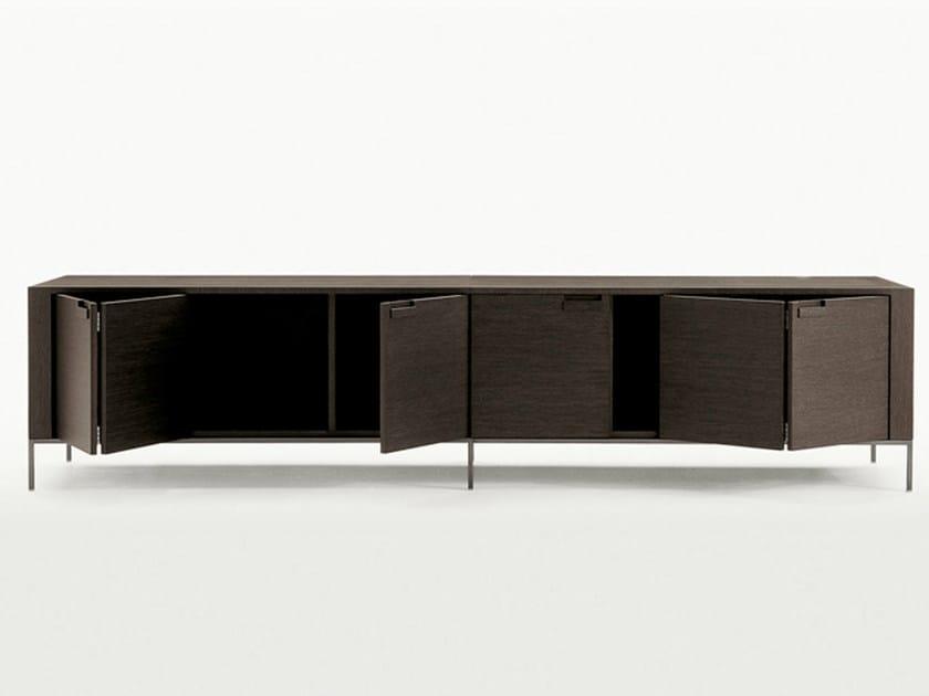 Wooden sideboard with doors TITANES | Sideboard - Maxalto, a brand of B&B Italia Spa