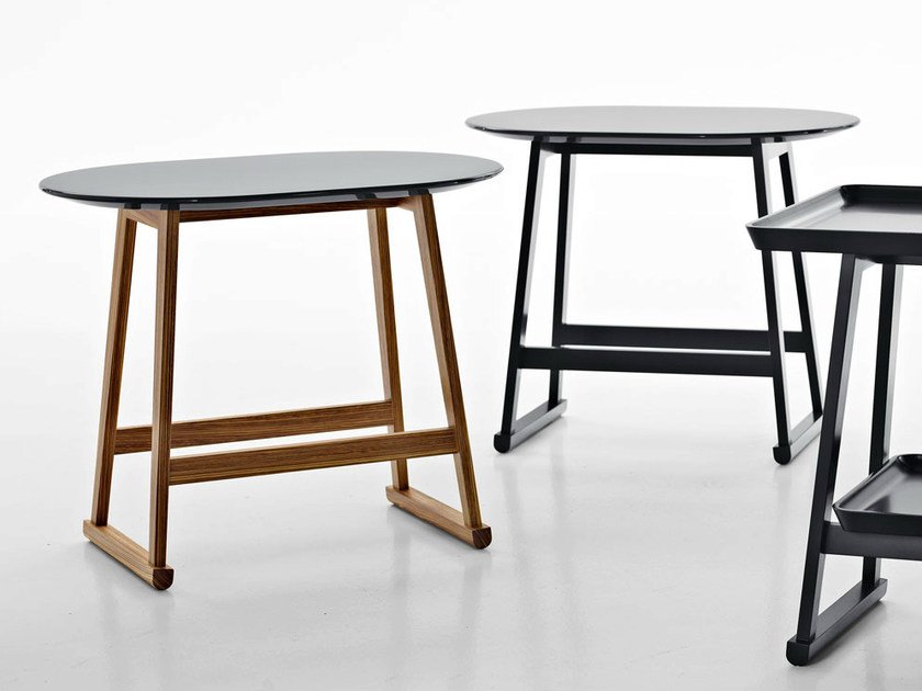 Wooden coffee table / bedside table RECIPIO '14 | Bedside table - Maxalto, a brand of B&B Italia Spa
