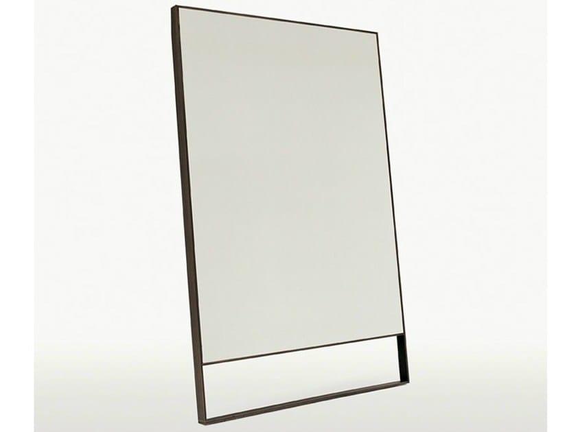 Freestanding rectangular mirror PSICHE by Maxalto
